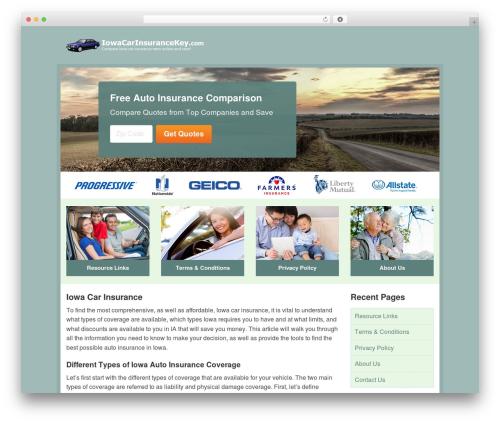 Theme WordPress Aperture - iowacarinsurancekey.com