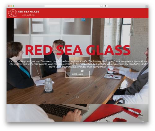 WordPress theme cherry - redseaglass.com