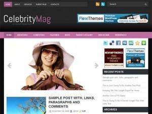 CelebrityMag best WordPress template