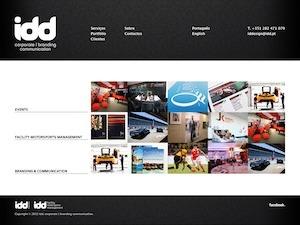 IDD WordPress website template