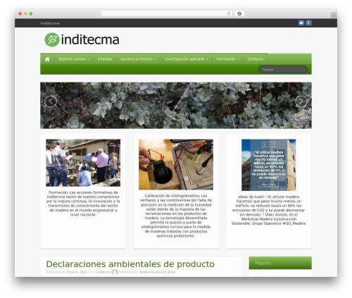 iFeature free website theme - inditecma.com