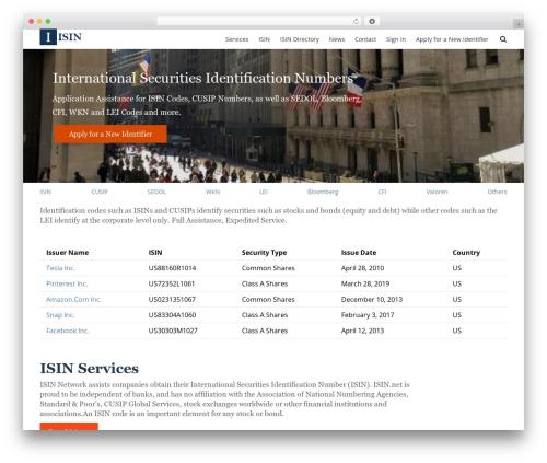 Free WordPress WP Site Mapping plugin - isin.net