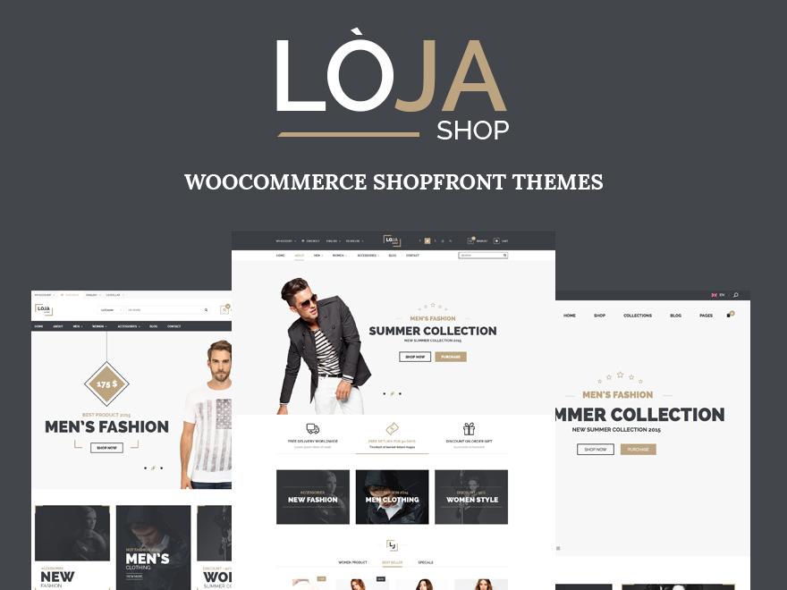 Loja WordPress shop theme