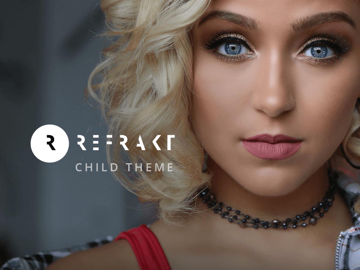 Refrakt Child Theme wallpapers WordPress theme