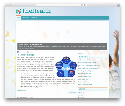 TheHealth WP template - indianprices.info