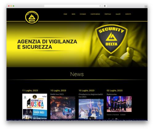 WordPress theme Promostudio - deltaservicesecurity.com