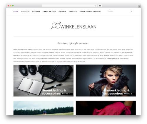 Activello best free WordPress theme - winkelenslaan.nl