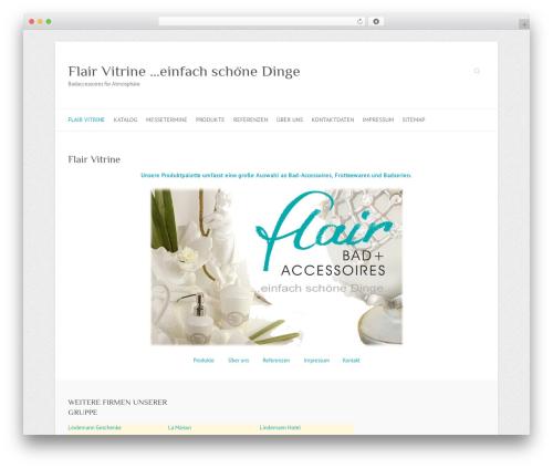 Attitude WordPress theme free download - flair-vitrine.de
