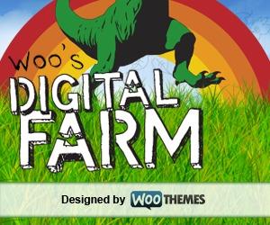 Best WordPress template Digital Farm