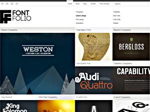 Best WordPress template FontFolio Theme