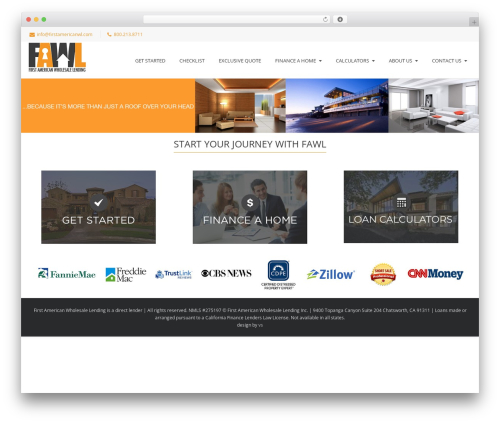 Best WordPress theme Nimva - firstamericanwl.com
