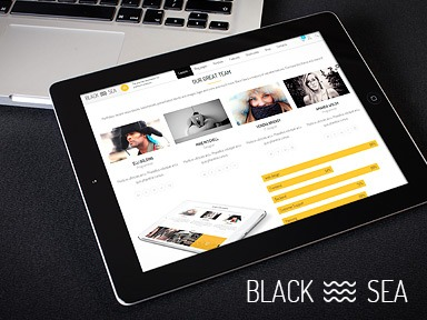 Black Sea WordPress theme