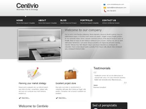 Centivio3 business WordPress theme