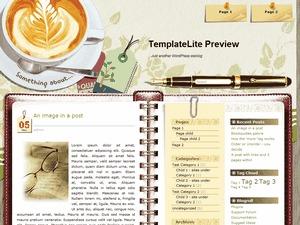Coffee Desk WordPress theme