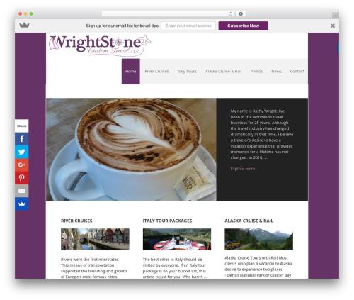 Free WordPress FancyBox for WordPress plugin - wrightstonetravel.com