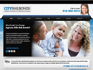 Fast Out Bail Bonds WordPress page template