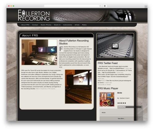 Free WordPress My Quicktags plugin - fullertonrecording.com