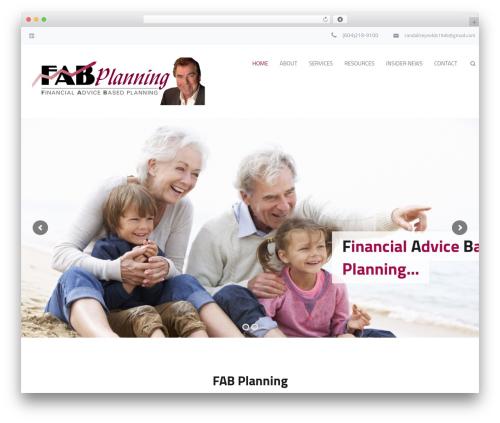 Jomelle WP theme - fabplanning.ca
