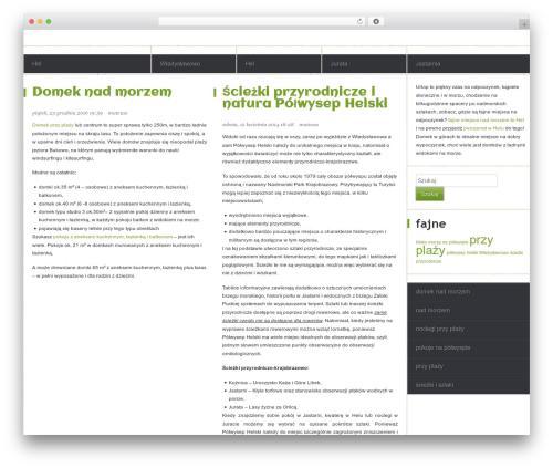 Kirigami WordPress website template - fajneprzyplazy.com