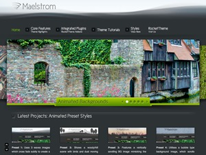 Maelstrom WordPress theme