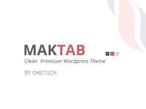 maktab company WordPress theme