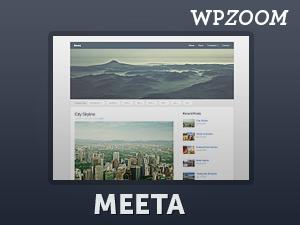 Meeta top WordPress theme