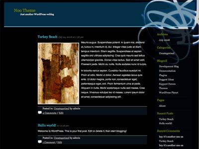 Neonglow premium WordPress theme
