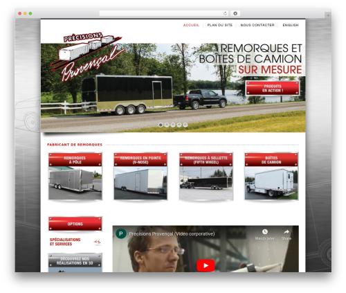 Nevada WordPress website template - fabricantderemorques.com
