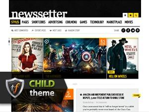 NewsSetter Child WordPress news template