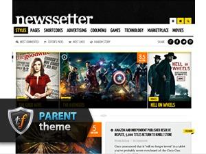 NewsSetter Parent WordPress news template