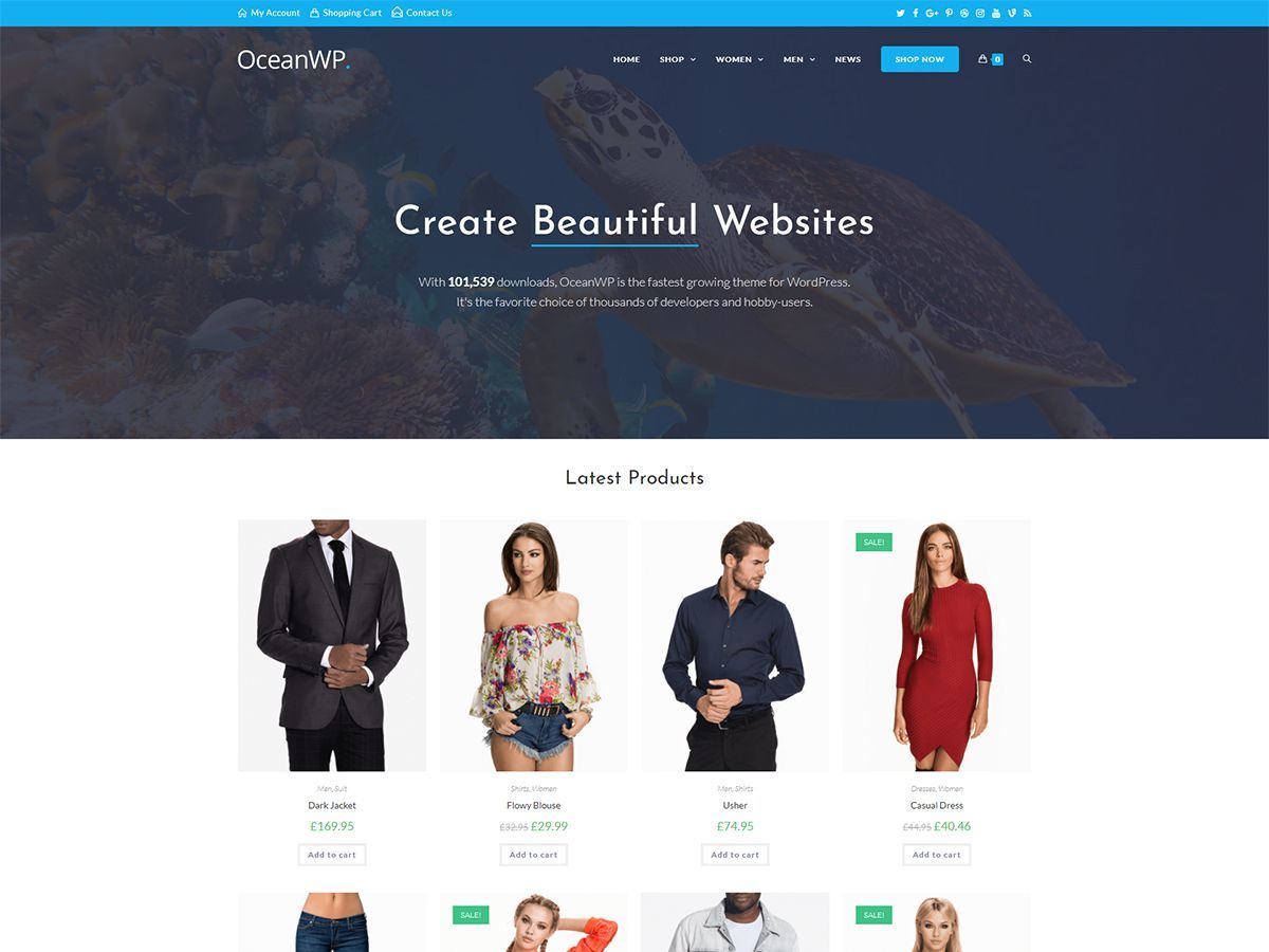 OceanWP Child WordPress theme