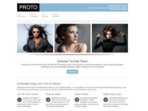 Proto Theme business WordPress theme