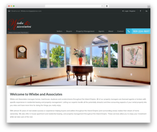 RealHomes Theme WordPress theme - wbarealtor.com