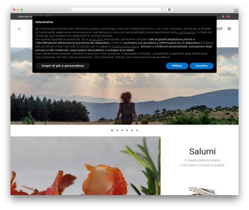 Storesy WordPress ecommerce template - filieradeipiccoli.it