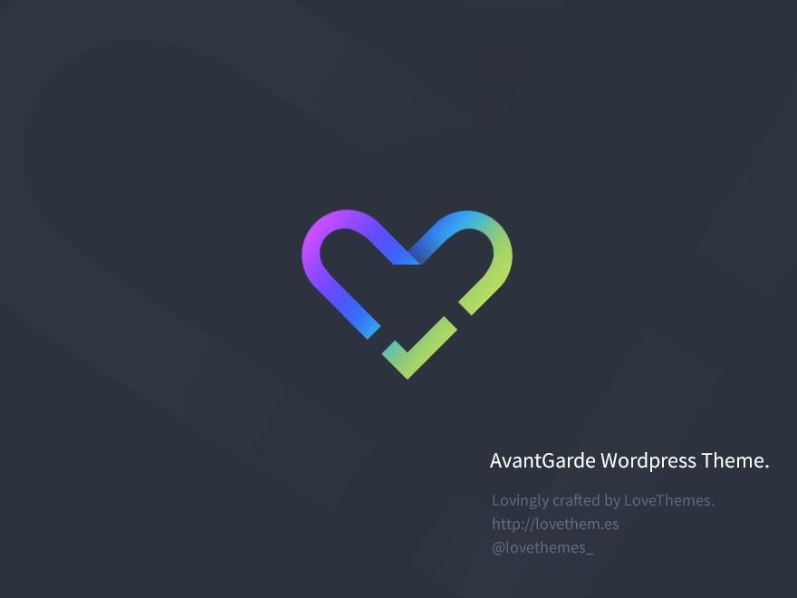 Template WordPress AvantGarde