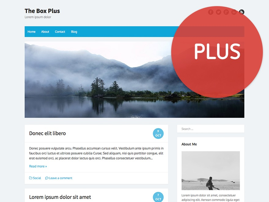 The Box Plus premium WordPress theme