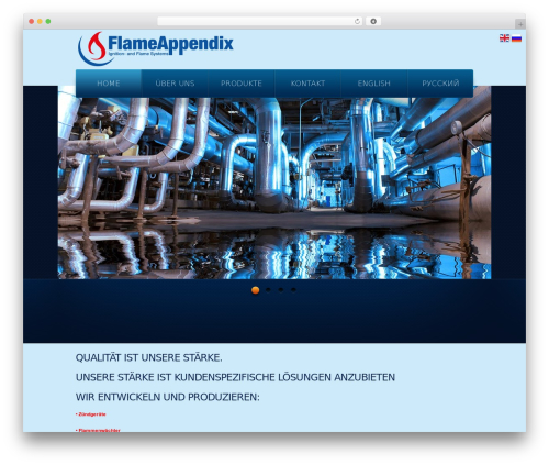 theme1866 WordPress theme - flameappendix.de