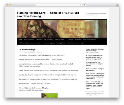 Twenty Ten WordPress free download - flamingheretics.org
