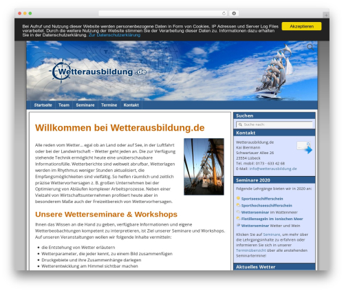 Free WordPress Companion Sitemap Generator plugin - wetterausbildung.de