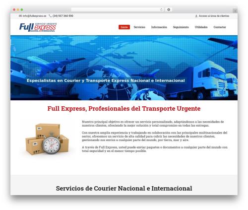 WebFlow WordPress theme - fullexpress.es