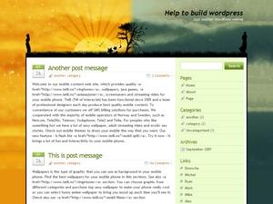 WordPress theme Dreamplace