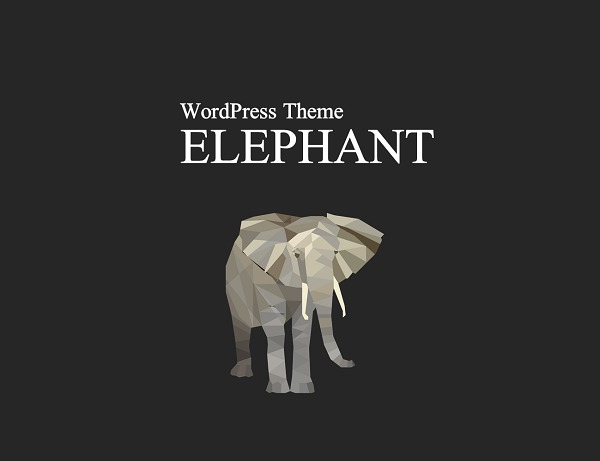 WordPress theme elephant