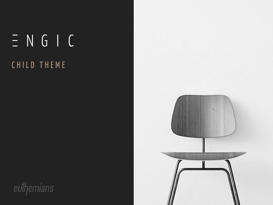 WordPress website template Engic Child