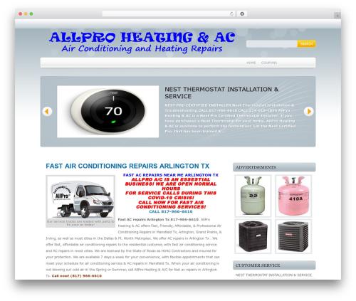 WP template Marina - fastacrepairarlington.com
