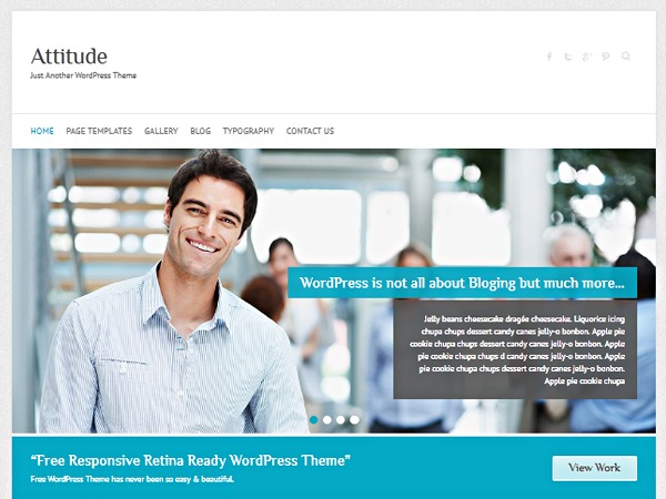 WP theme Attitude Child Theme