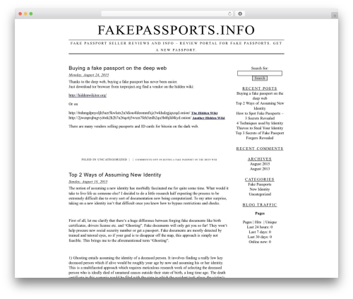 Free WordPress Plugin Name: Traffic Counter Widget Plugin plugin - fakepassports.info