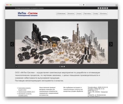 Business lite WordPress template free download - intechsystem.ru