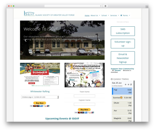 Free WordPress Recurring PayPal Donations plugin - isgvf.com