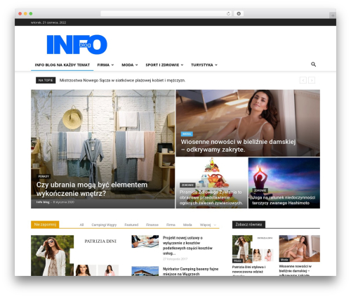 Free WordPress Meks Smart Social Widget plugin - info-blog.pl
