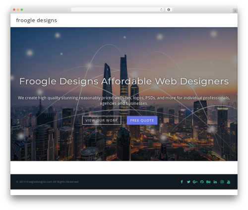 Parallel free WordPress theme - intelligentstaffing.net